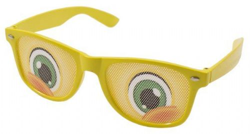 Party Glasses with Cartoon Eyes